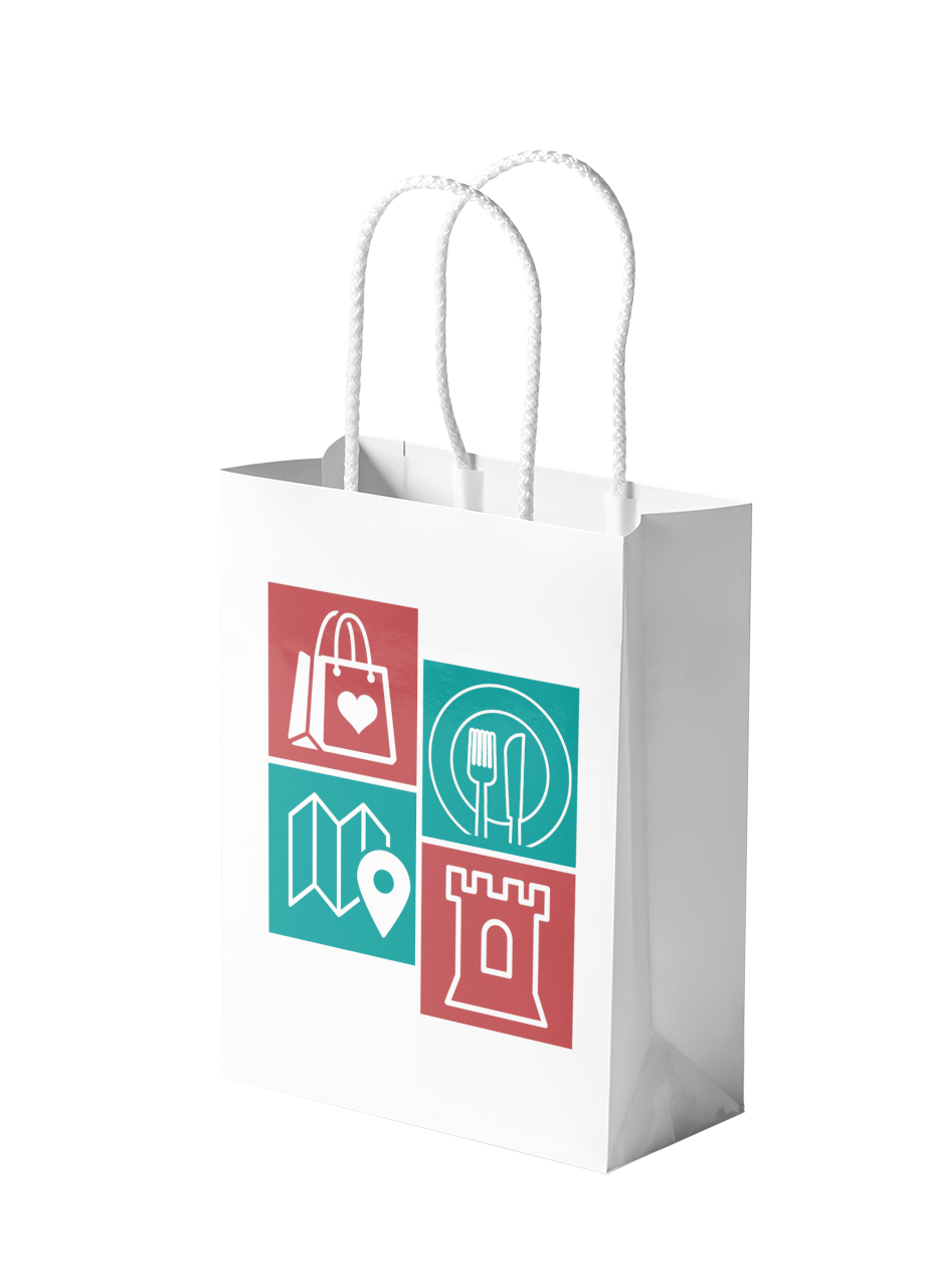The Guildford App Paper Bag