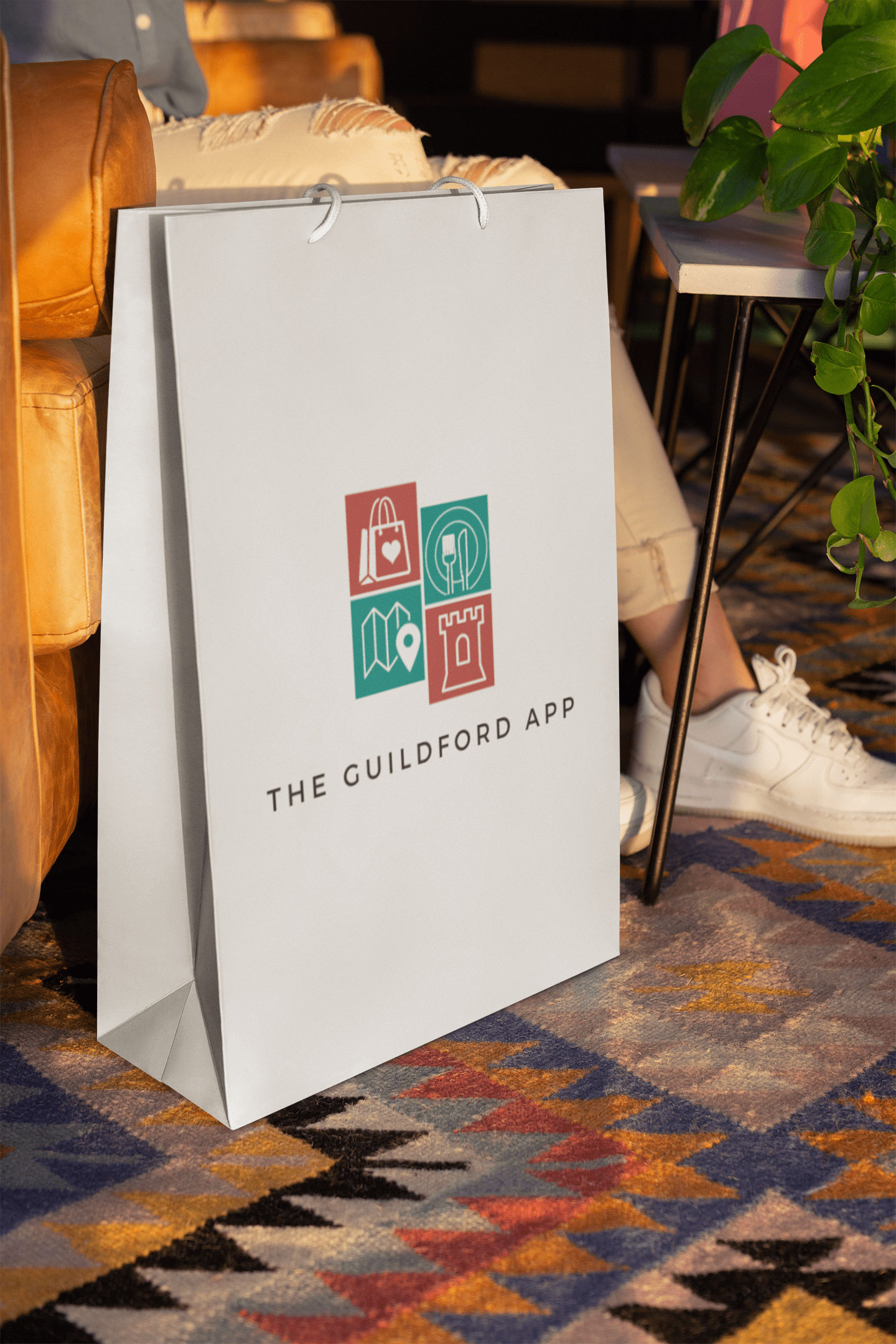 The Guildford App Shopping Bag